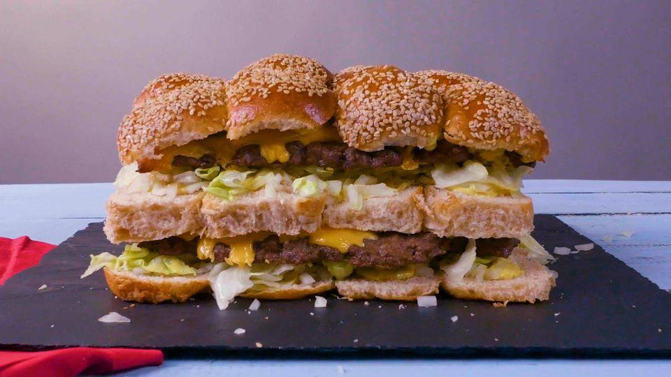 Copycat Big Mac Pull Apart Sliders