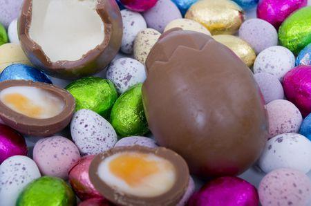 Creme Filled Chocolate Eggs Recipe