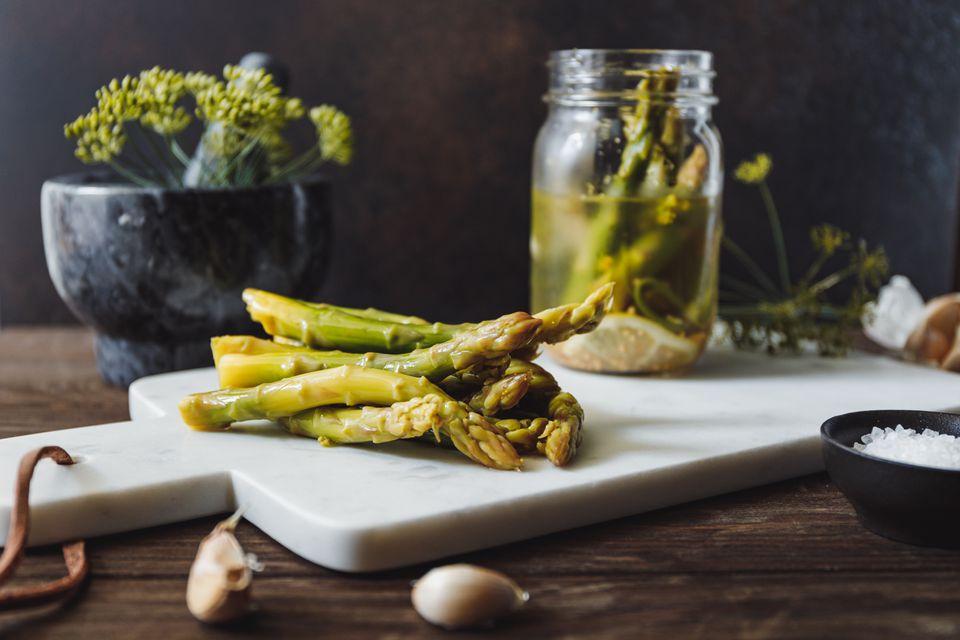 Asparagus refrigerator pickled recipe