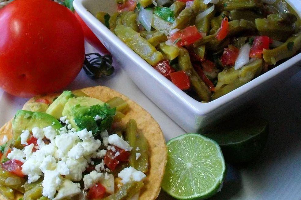 Mexican Cactus Salad