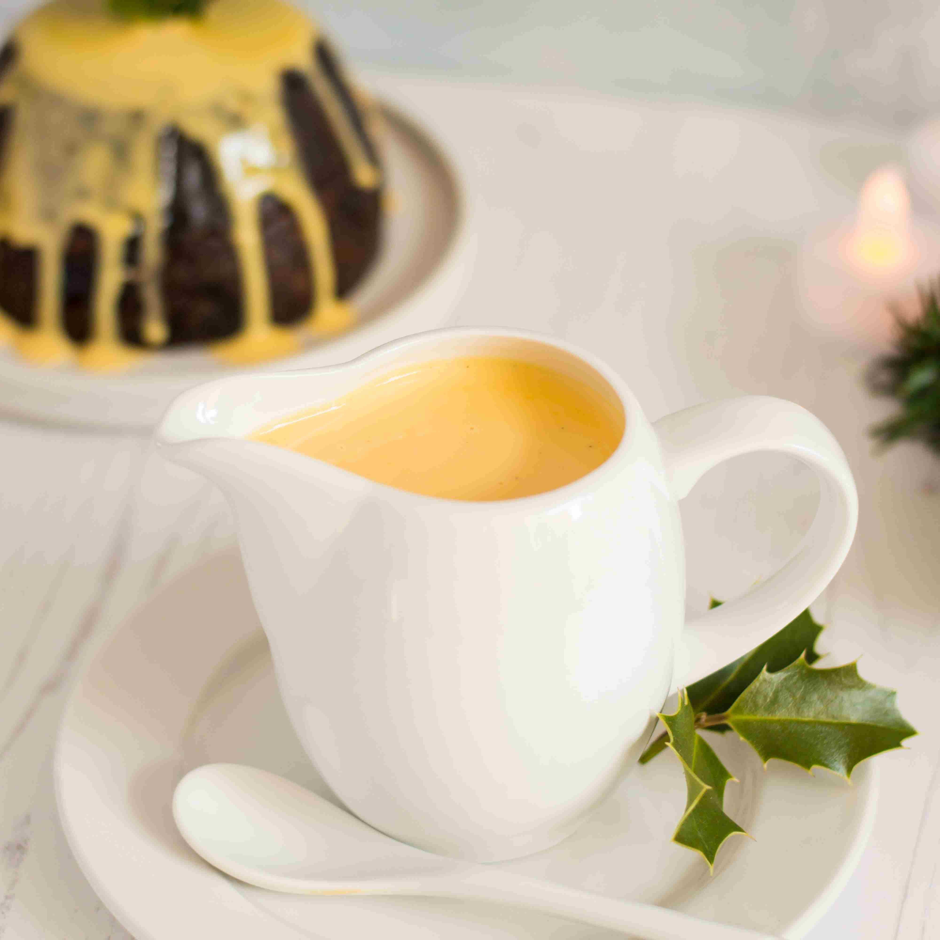 Christmas Spiced Custard Sauce Recipe