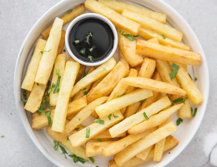 Twice-cooked chips recipe