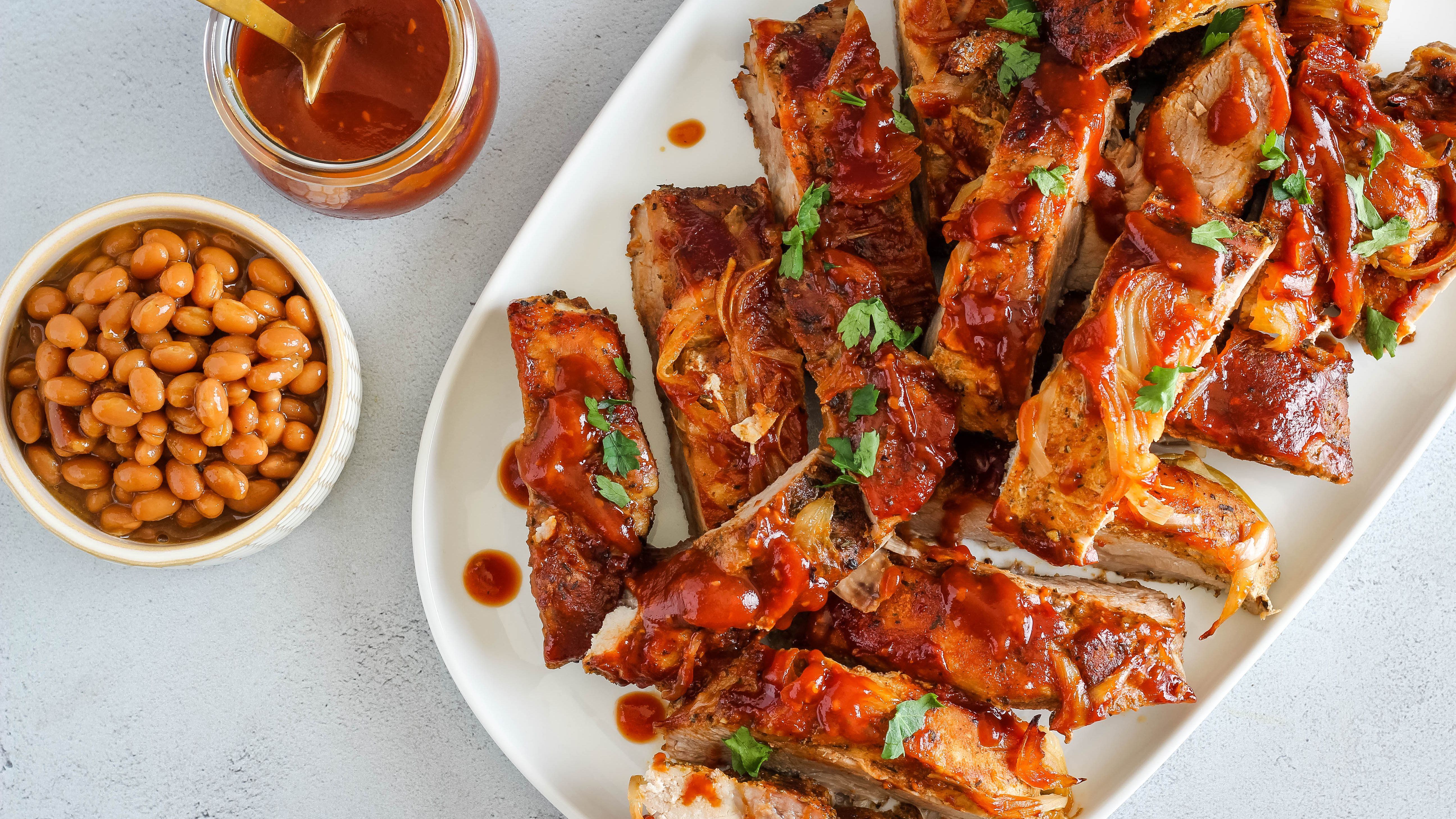 Baked Barbecued Country Style Pork Ribs Recipe,Easy Swedish Meatball Recipe