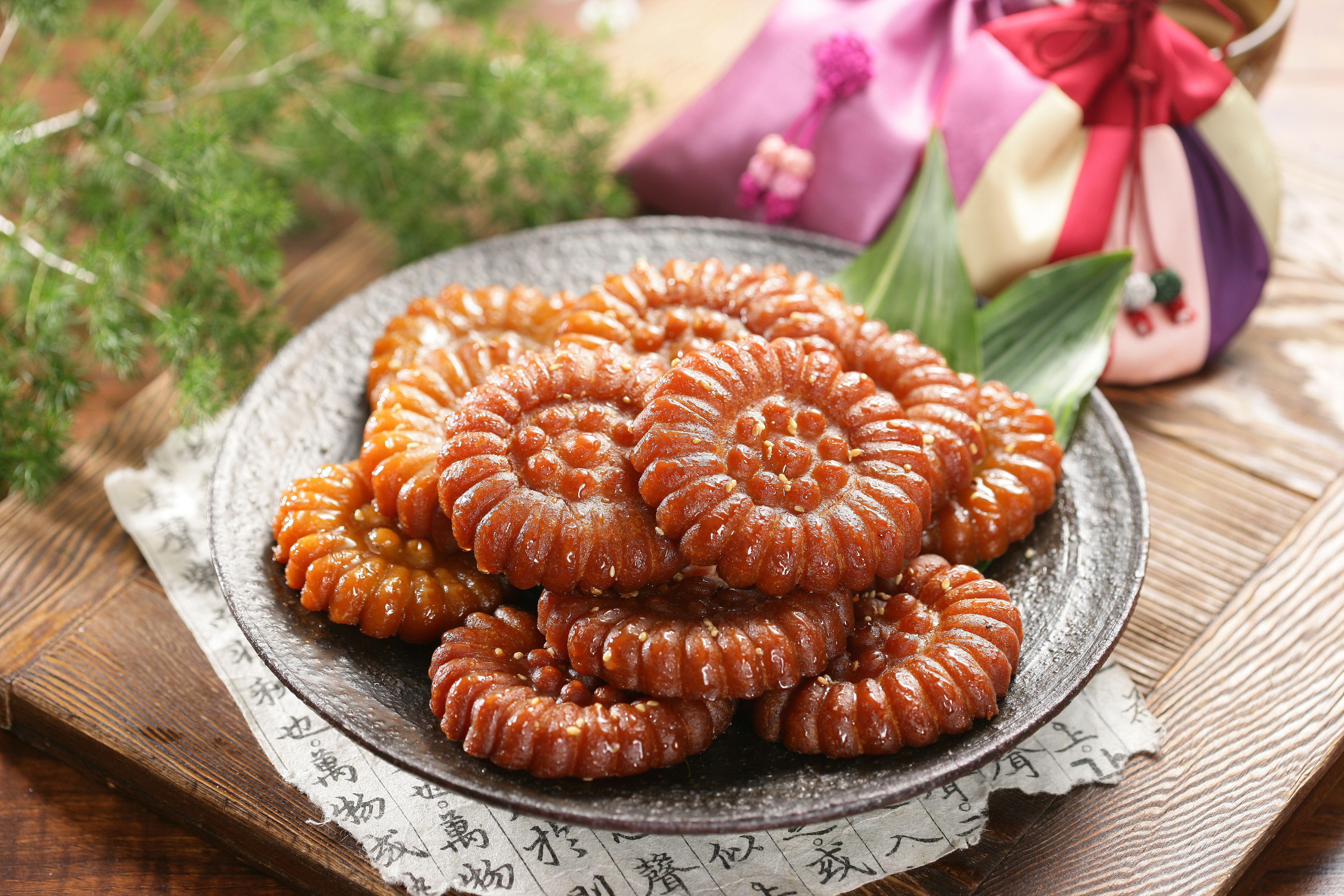 Yakgwa, Korean Honey Cookies Recipe