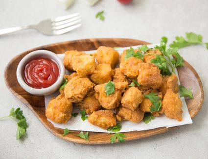 Fried paneer cheese pakora recipe