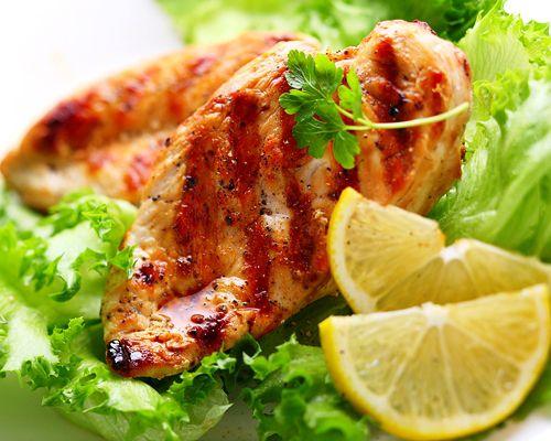 Delicious Grilled Thai Honey-Garlic Chicken