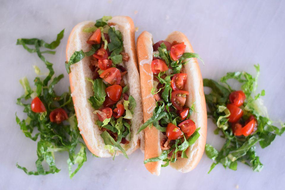 blt hot dog