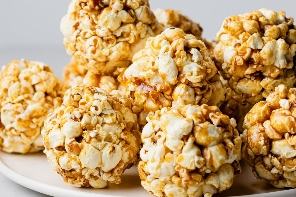 Quick and Easy Popcorn Balls