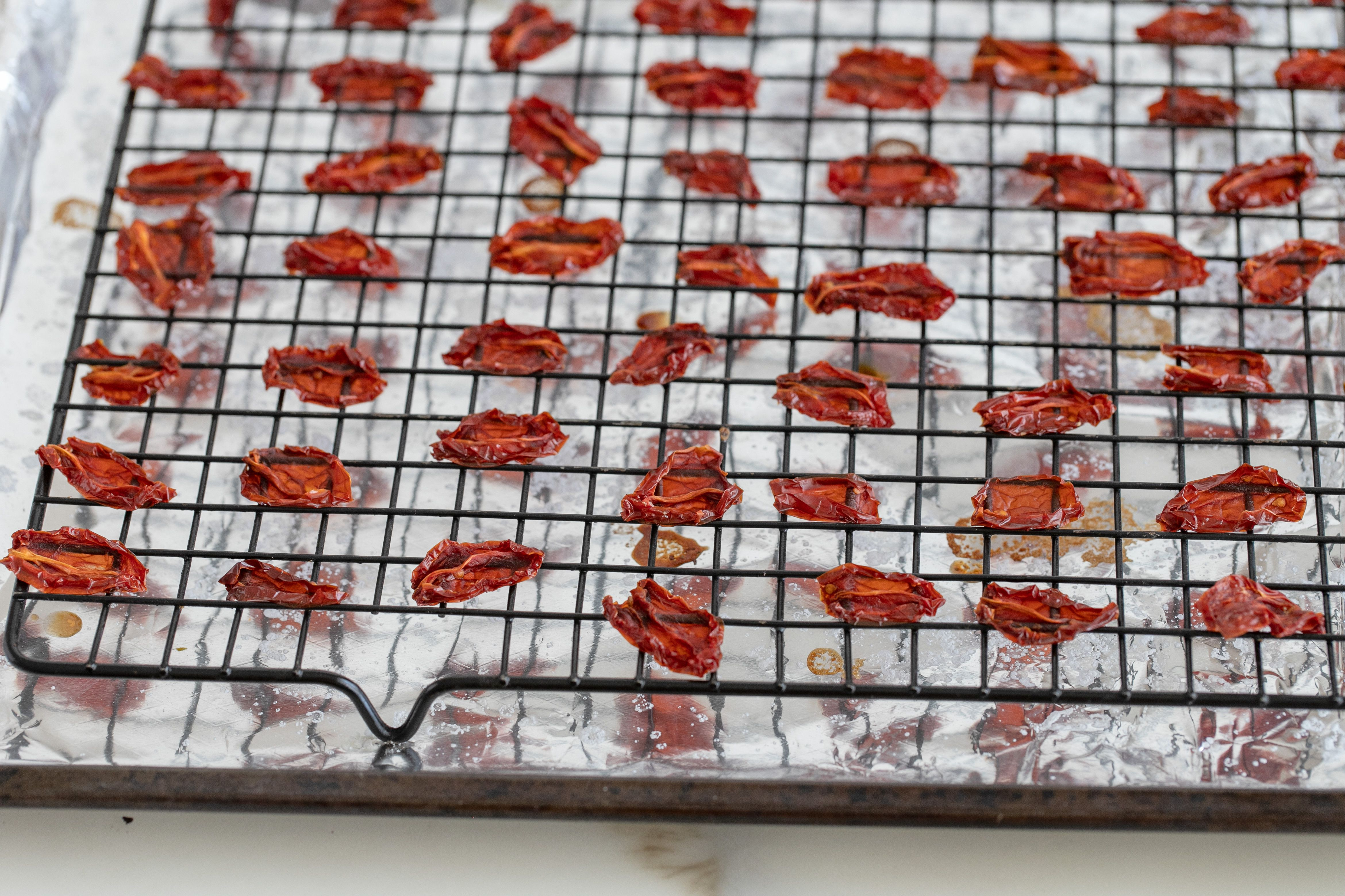 Oven sundried tomatoes