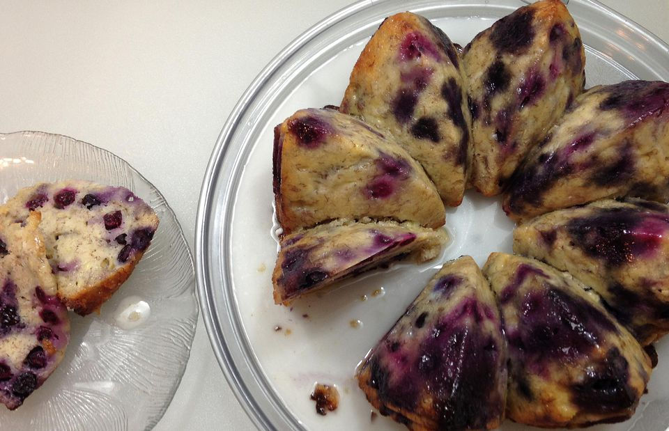 Blueberry Banana Cake