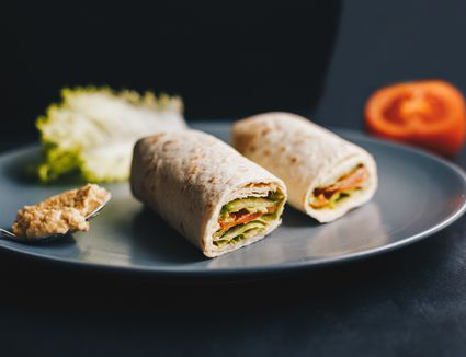 Verbazingwekkend Vegan Cream Cheese Veggie Wraps Recipe RC-96