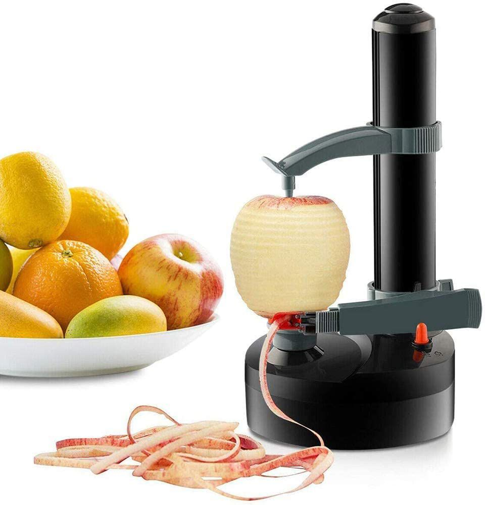 TOPCHANCES Electric Automatic Rotating Apple Peeler