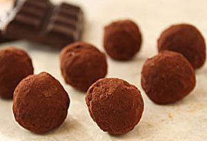 Dark Chocolate Truffles photo