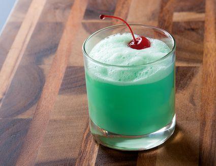 Minty Irish Eyes Cocktail