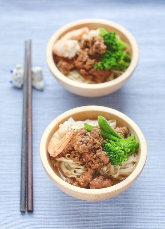 Fideos Tsai tostados taiwaneses