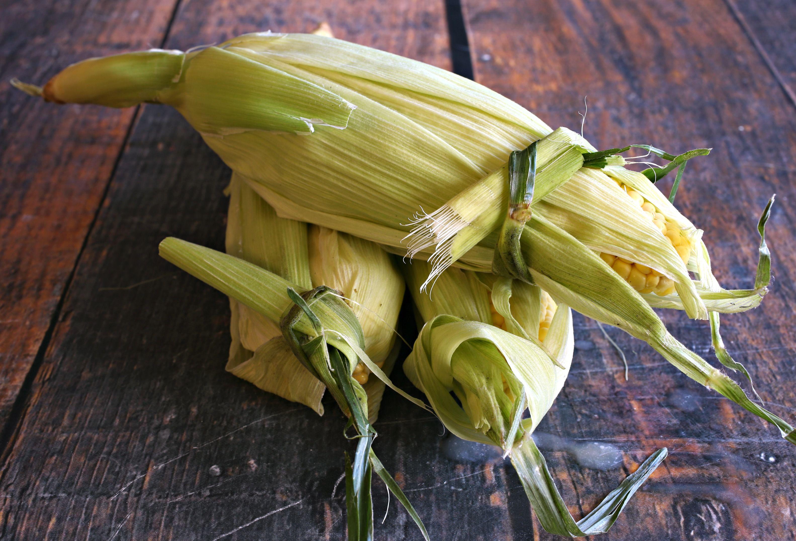 Retied corn