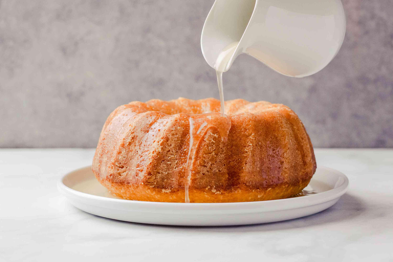 Caribbean Bacardi Rum-Soaked Cake