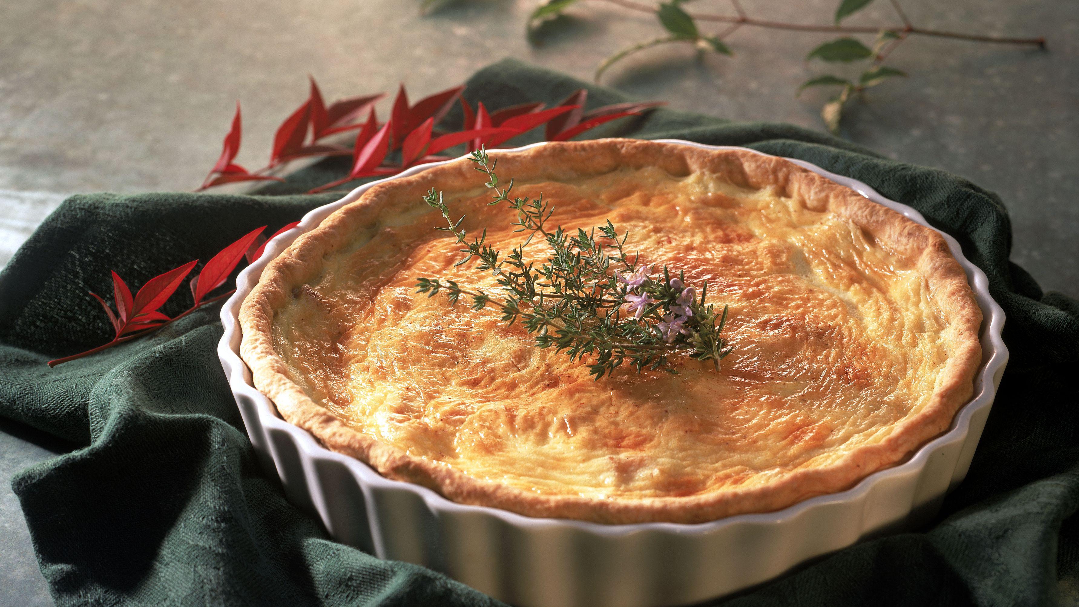 A Classic Quiche Lorraine Recipe