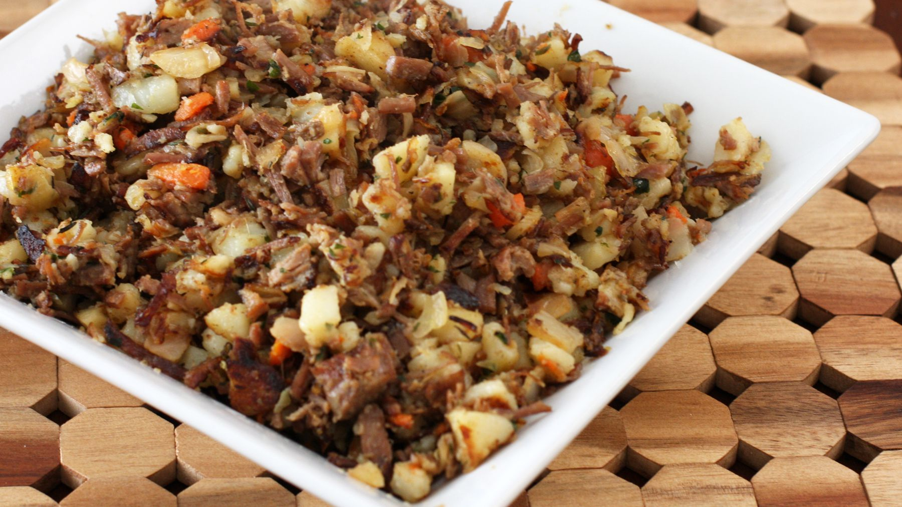 Leftover Corned Beef Hash With Cabbage Recipe