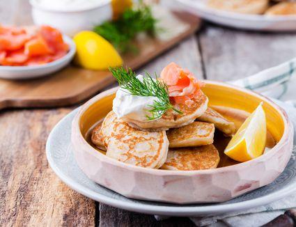 Russian blini recipe