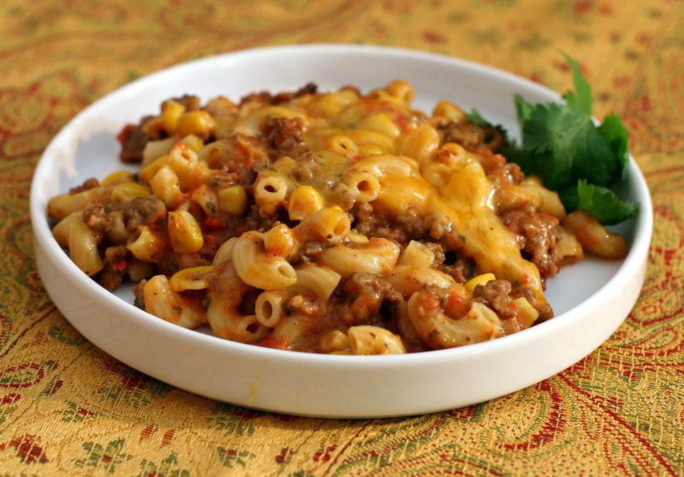 Tex-Mex Style Macaroni and Cheese