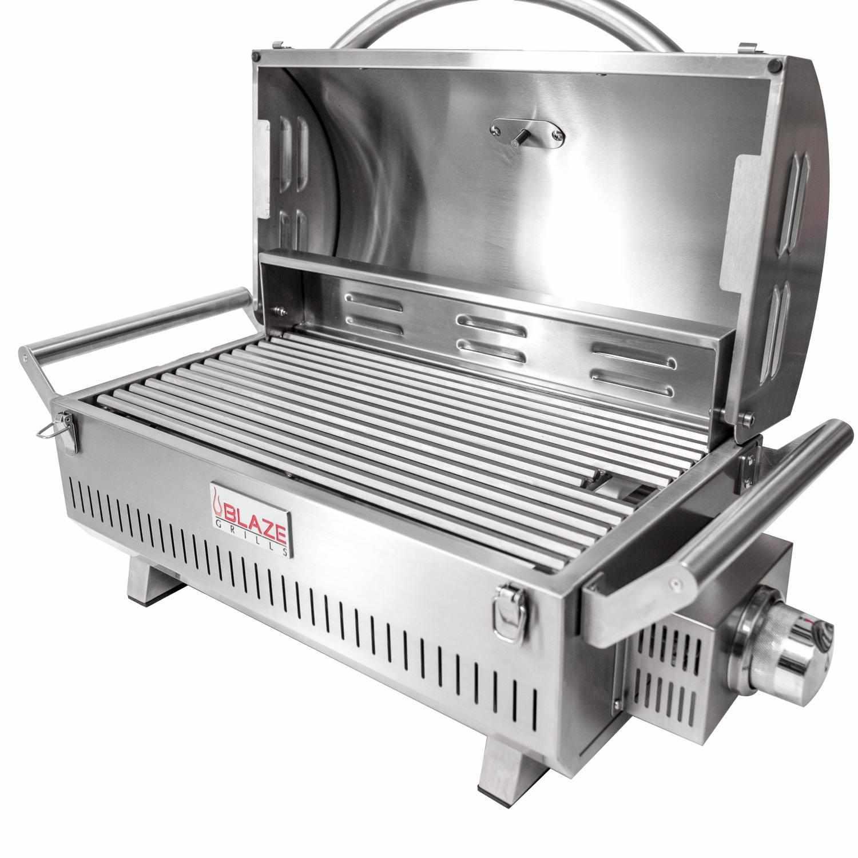 Professional 34-Inch 3-Burner Propane Gas Grill