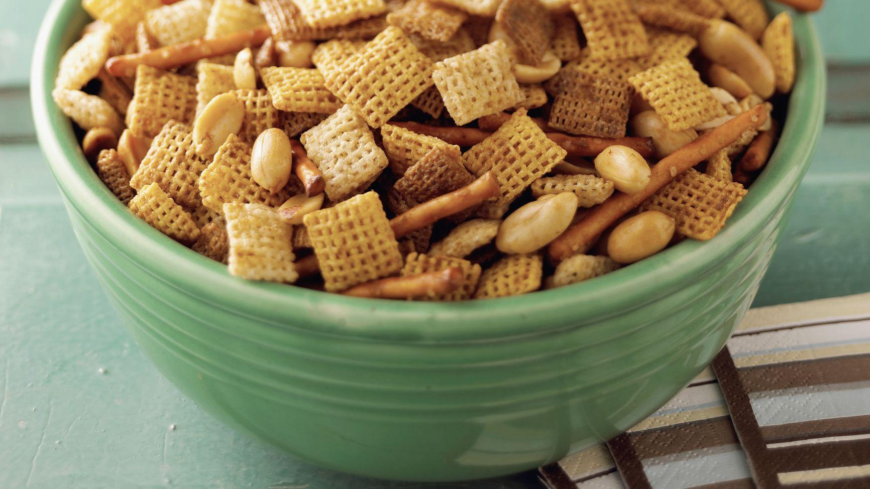 Gluten Free Chex Mix Style Snack Recipe
