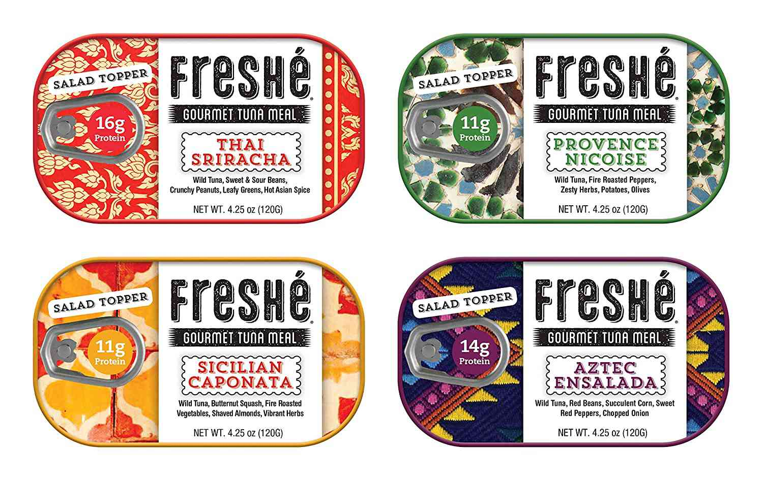 Freshé Gourmet Canned Tuna Ready to Eat Meals