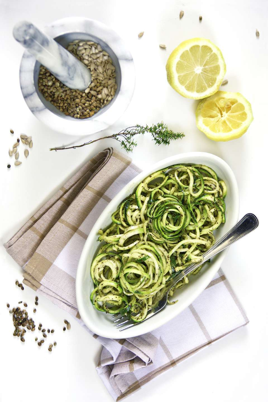 Cold Five-Spice Zucchini Noodle Salad