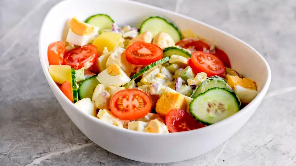 Taste Potato Salad With Dijon Mustard Mayonnaise