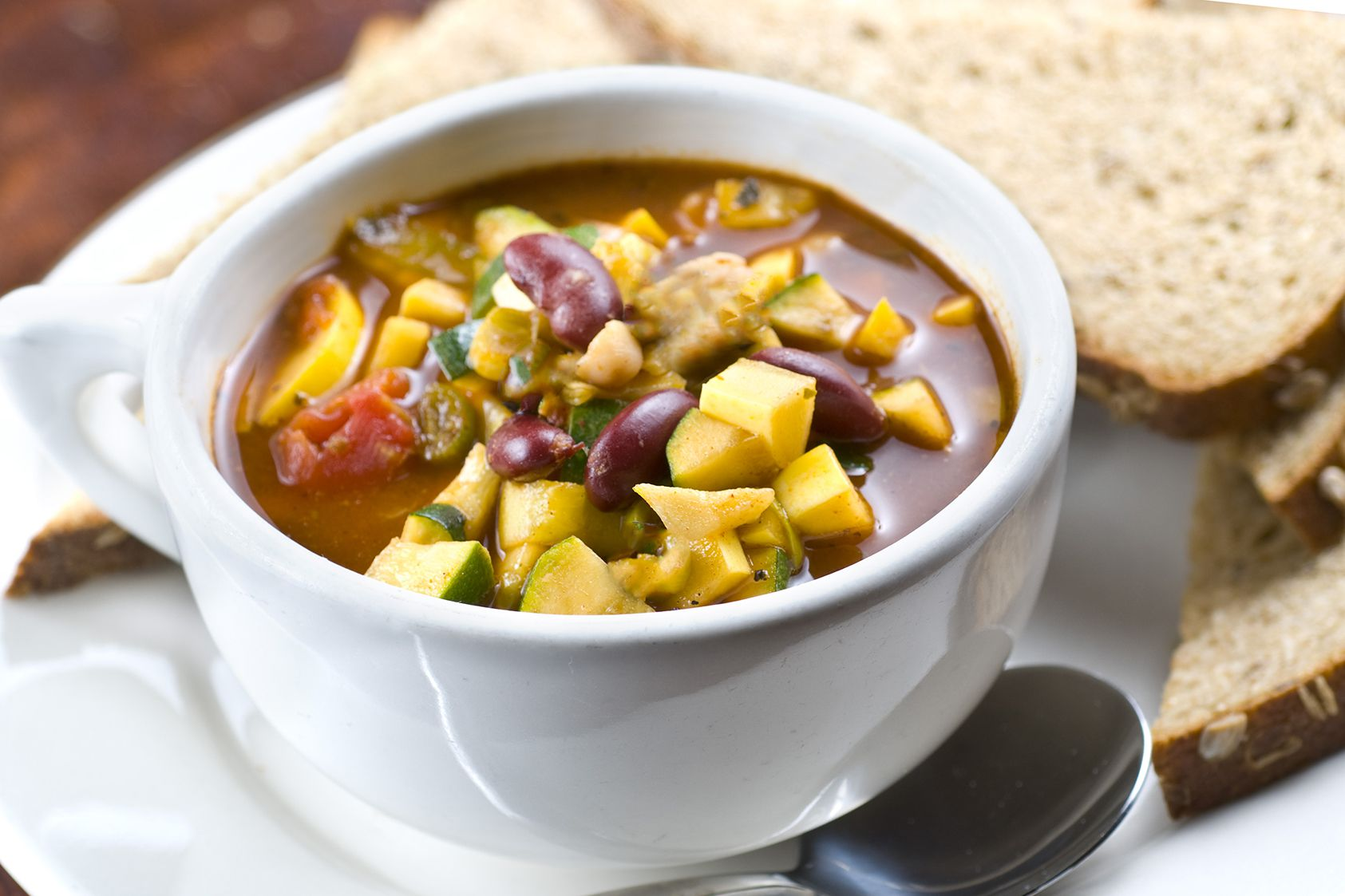 Vegetarian Vegetable Chili Recipe With Zucchini