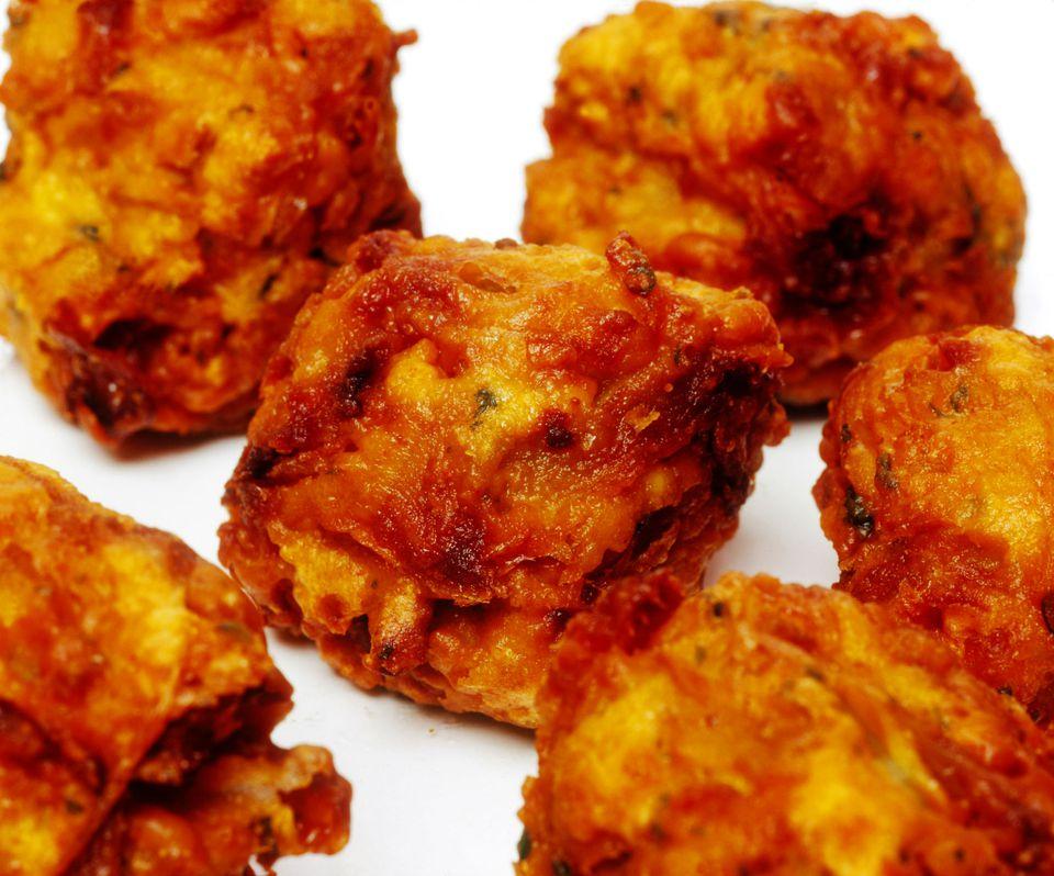 Bhajias (Pakoras) - Refrigerio indio frito
