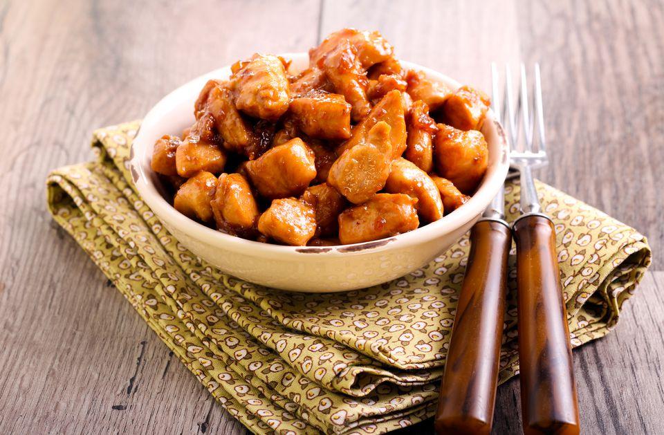 sweet soy honey chicken
