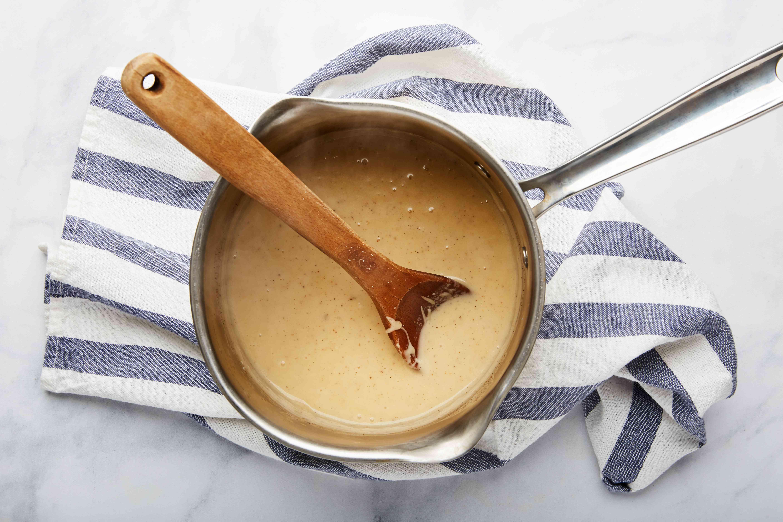 Stir to melt cheese