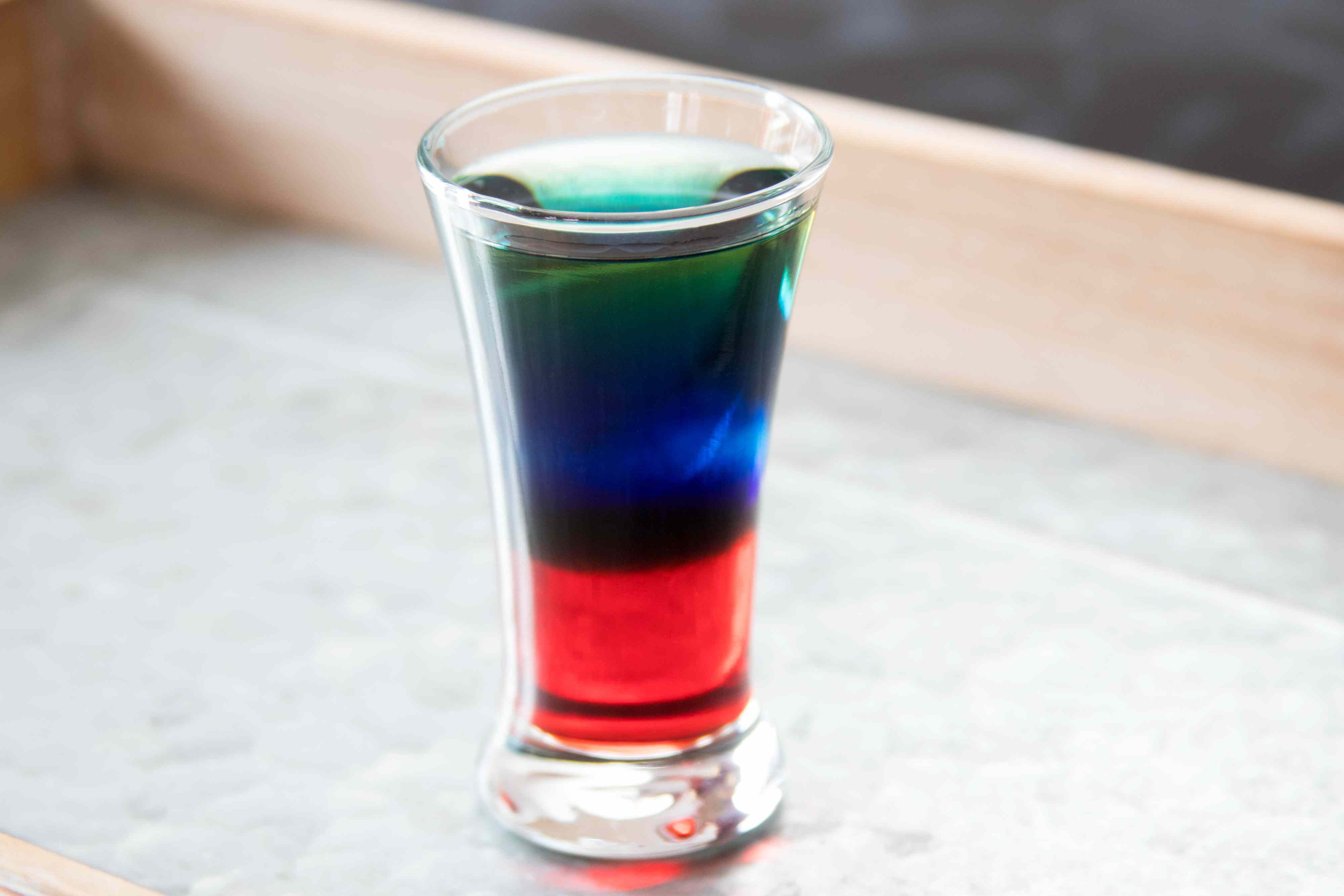 Fourth of July Shot Drink