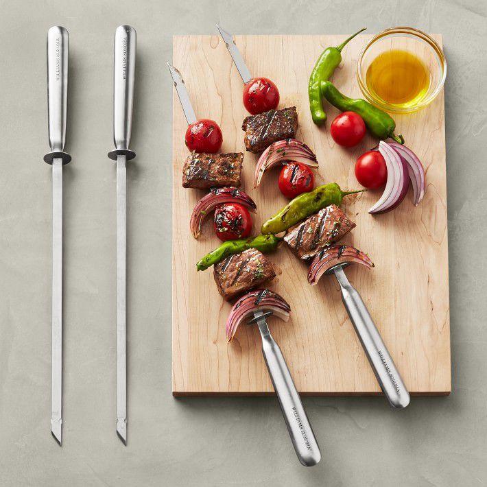williams-sonoma-stainless-steel-skewers