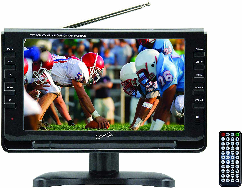 SuperSonic SC-499 Portable Widescreen LCD TV