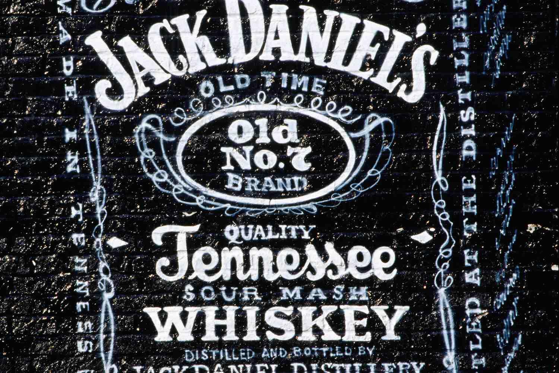 Jack Daniel's Tennessee Whiskey Mural on Beale Street
