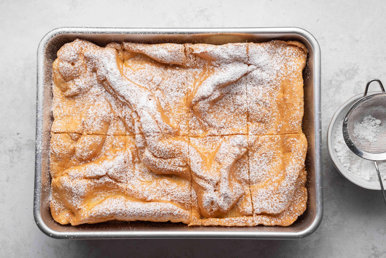 Polish Carpathian Mountain Cream Cake (Karpatka)