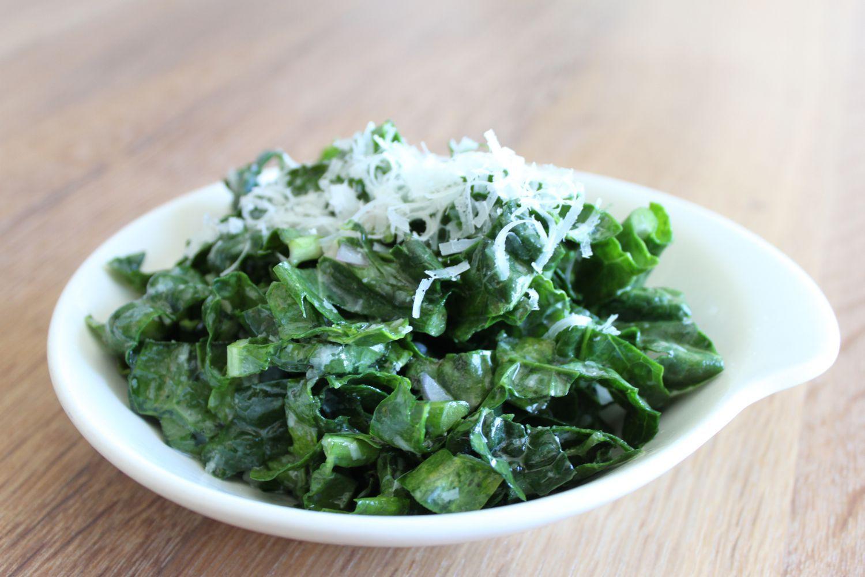 Kale and lemon salad