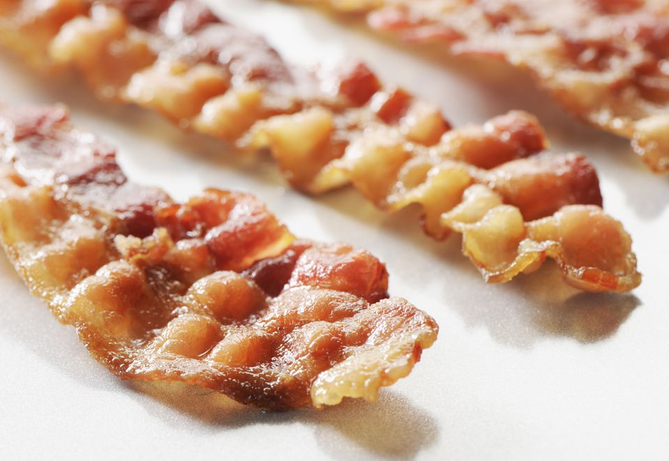 Candied bacon