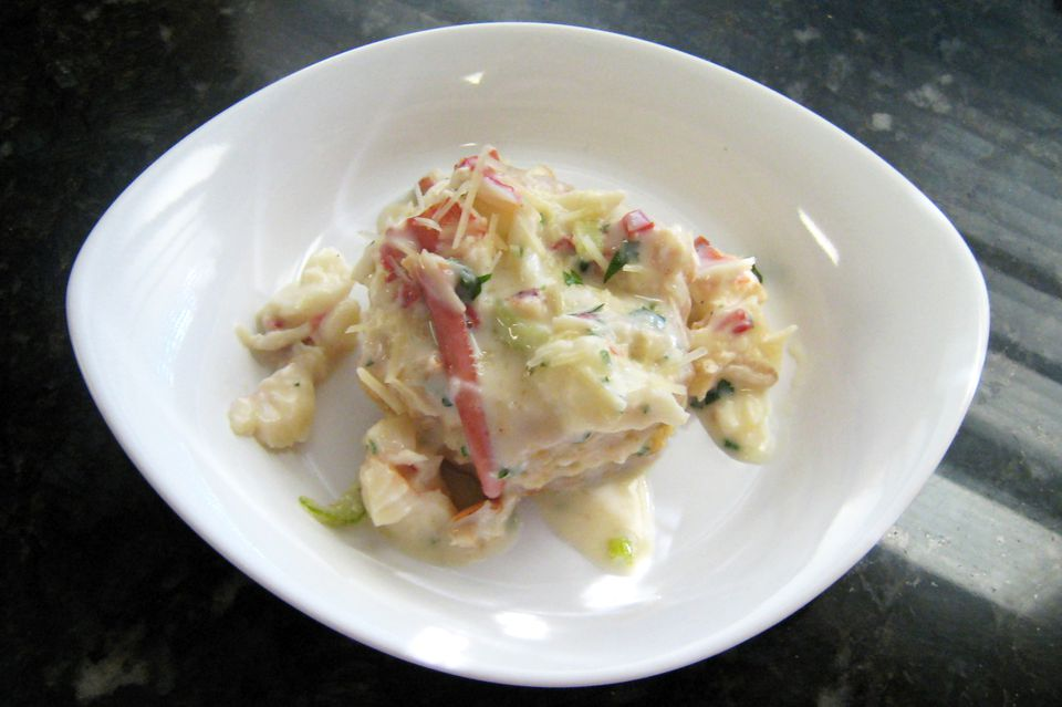 Creamed Lobster on Puff Pastry Shells