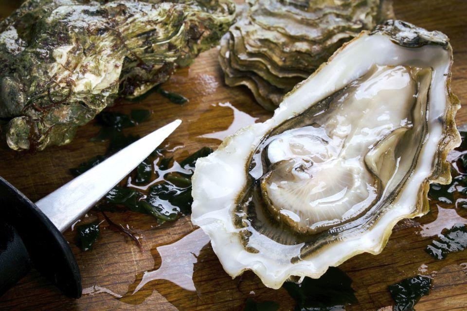 Tarta de ostras ricas y cremosas