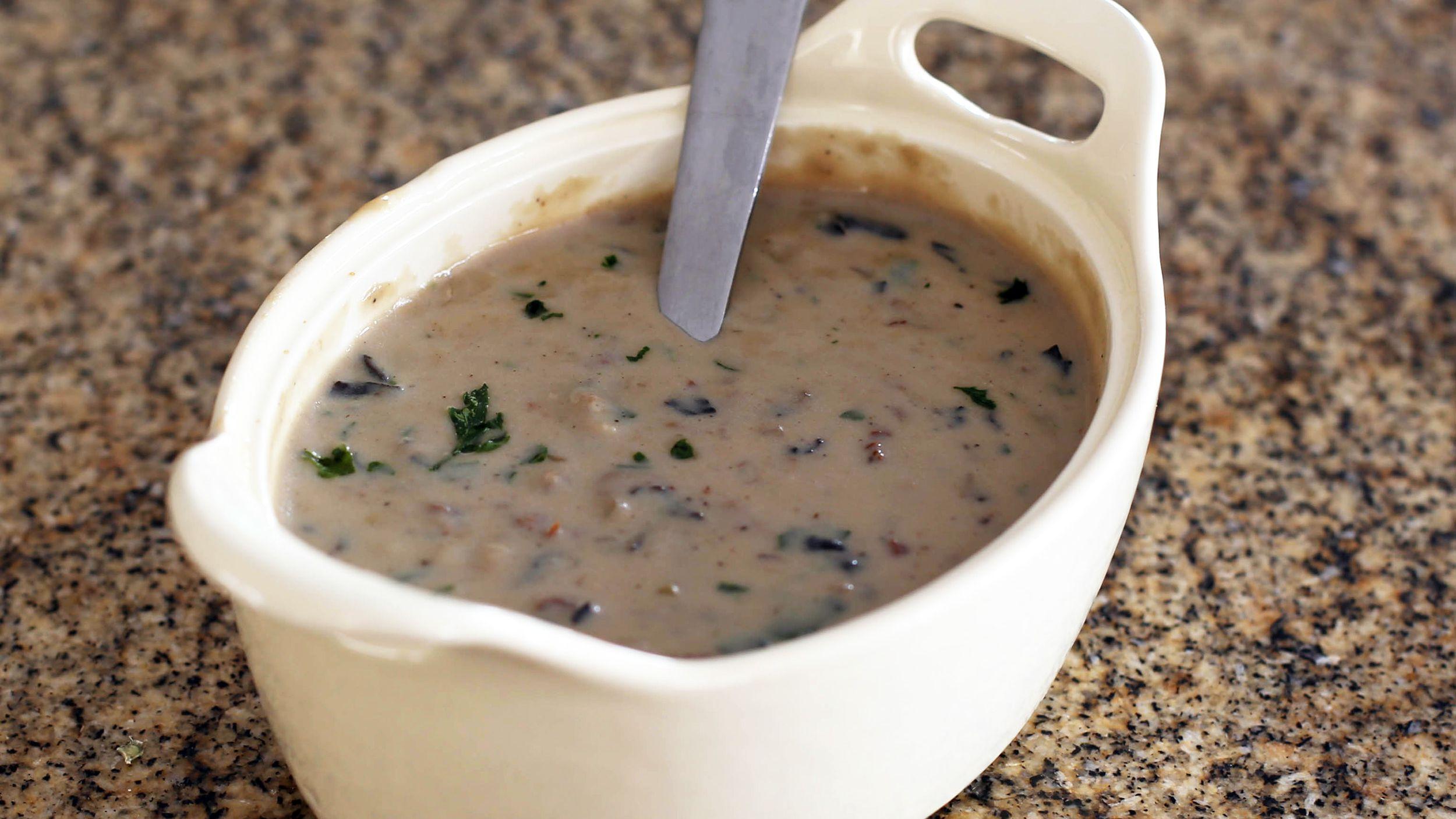 Wild Mushroom Cream Sauce Recipe