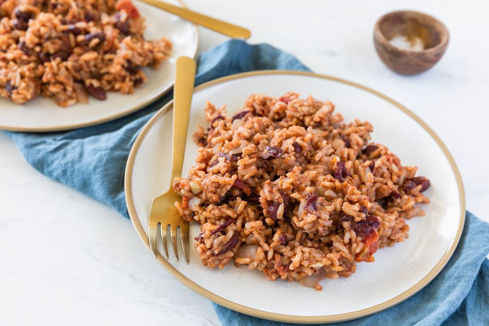 Caribbean Red Beans and Rice