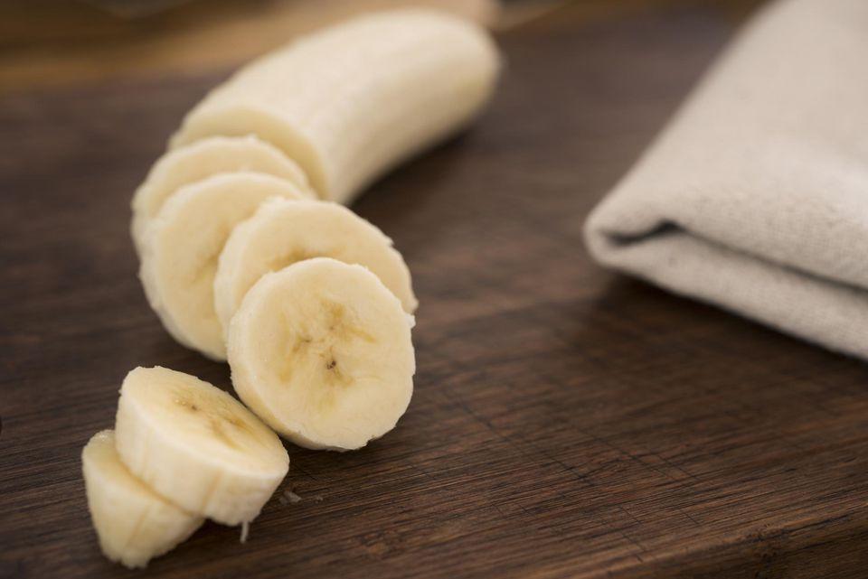 Hot bananas in coconut milk