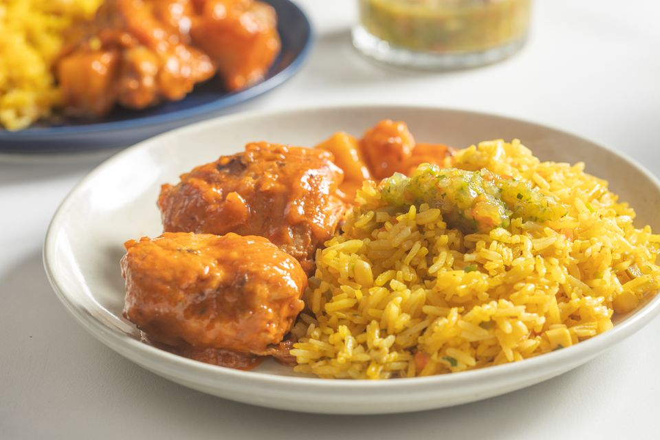 Yellow rice with corn arroz amarillo con maiz recipe