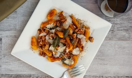 Pumpking Gnocchi With Fried Sage and Walnuts
