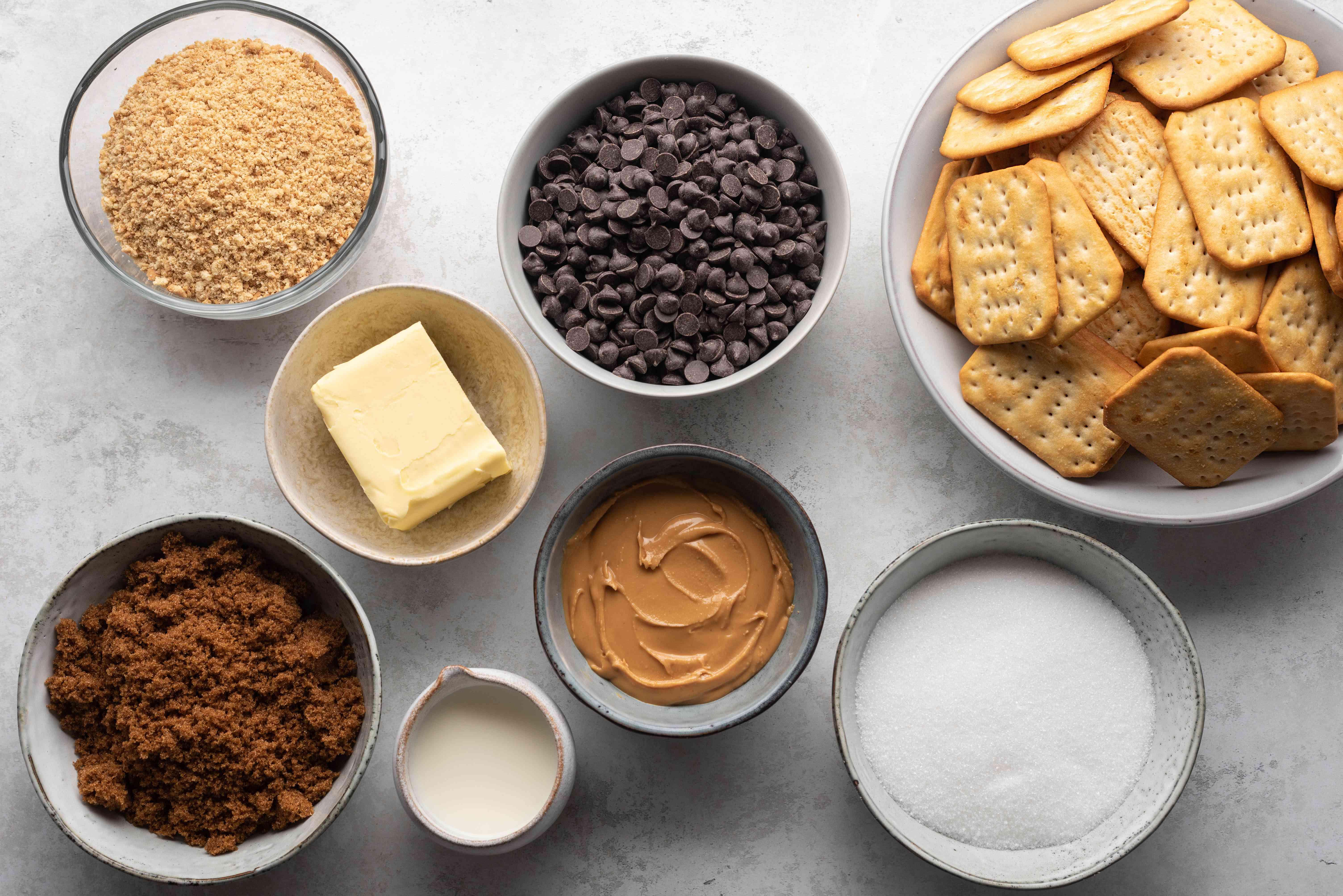 Homemade Kit Kat Bar Recipe ingredients