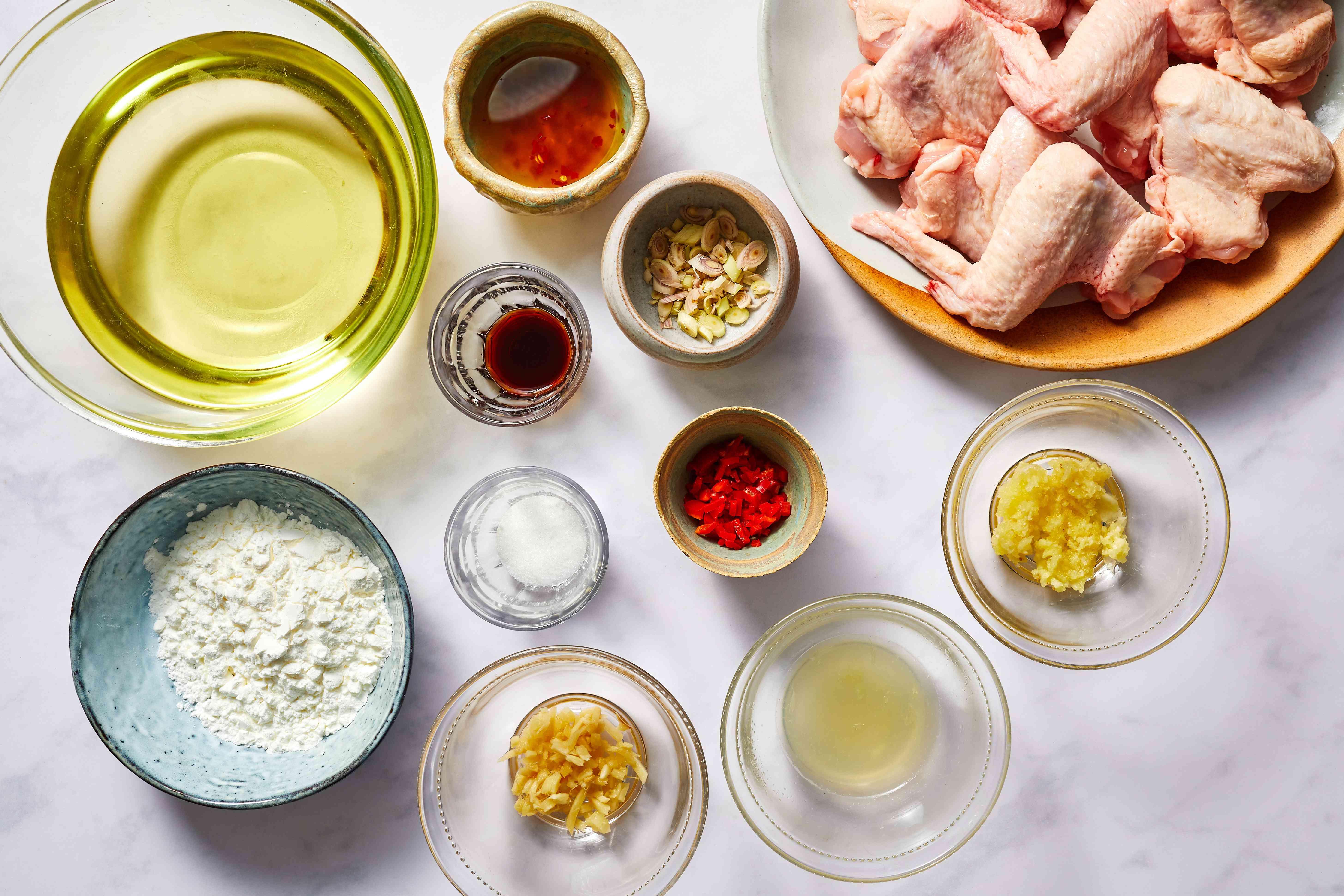 Vietnamese Fried Chicken Wings ingredients